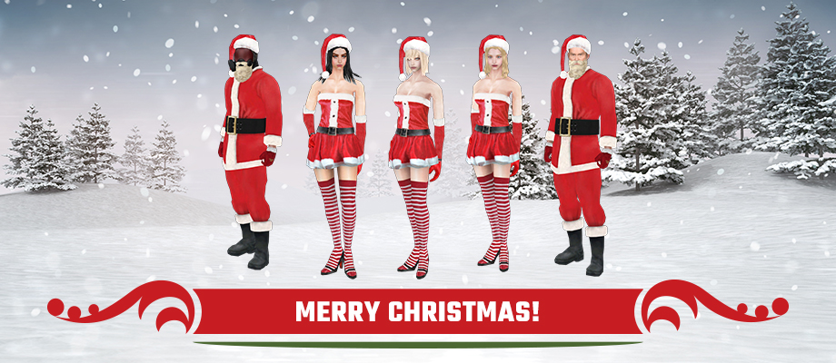 Evil Christmas Characters.War Rock Free To Play Online Fps